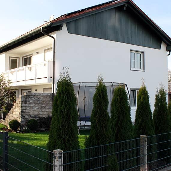 Gästehaus - Blick von der Ostseite